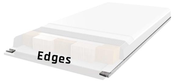 Ski edges