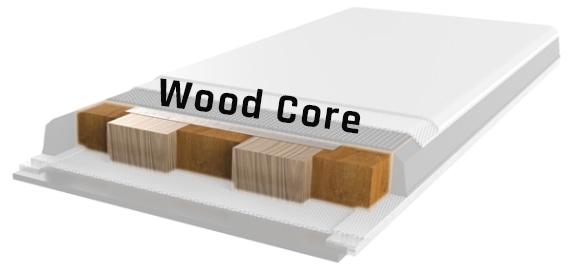 ski wood core
