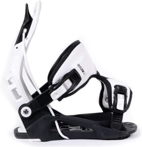 Flow 2021 Alpha White Stormtrooper Snowboard Bindings